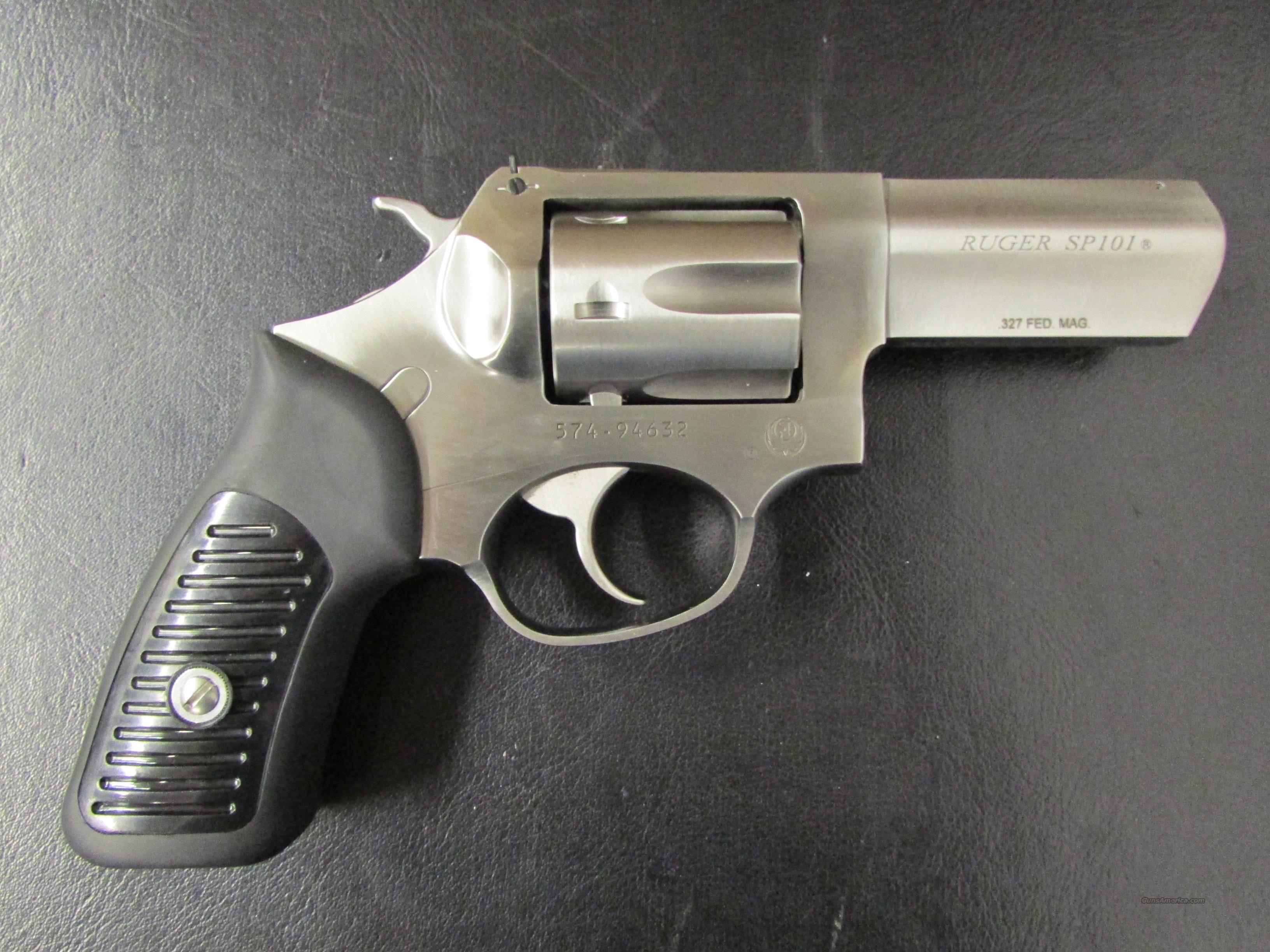 Ruger sp101 double action 327 federal magnum for sale 963442144
