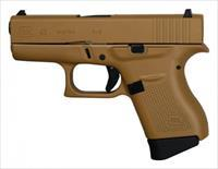 "Glock G43 GEN3 9mm Tactical Coyote Tan 3.39"" PI4350201TCT"