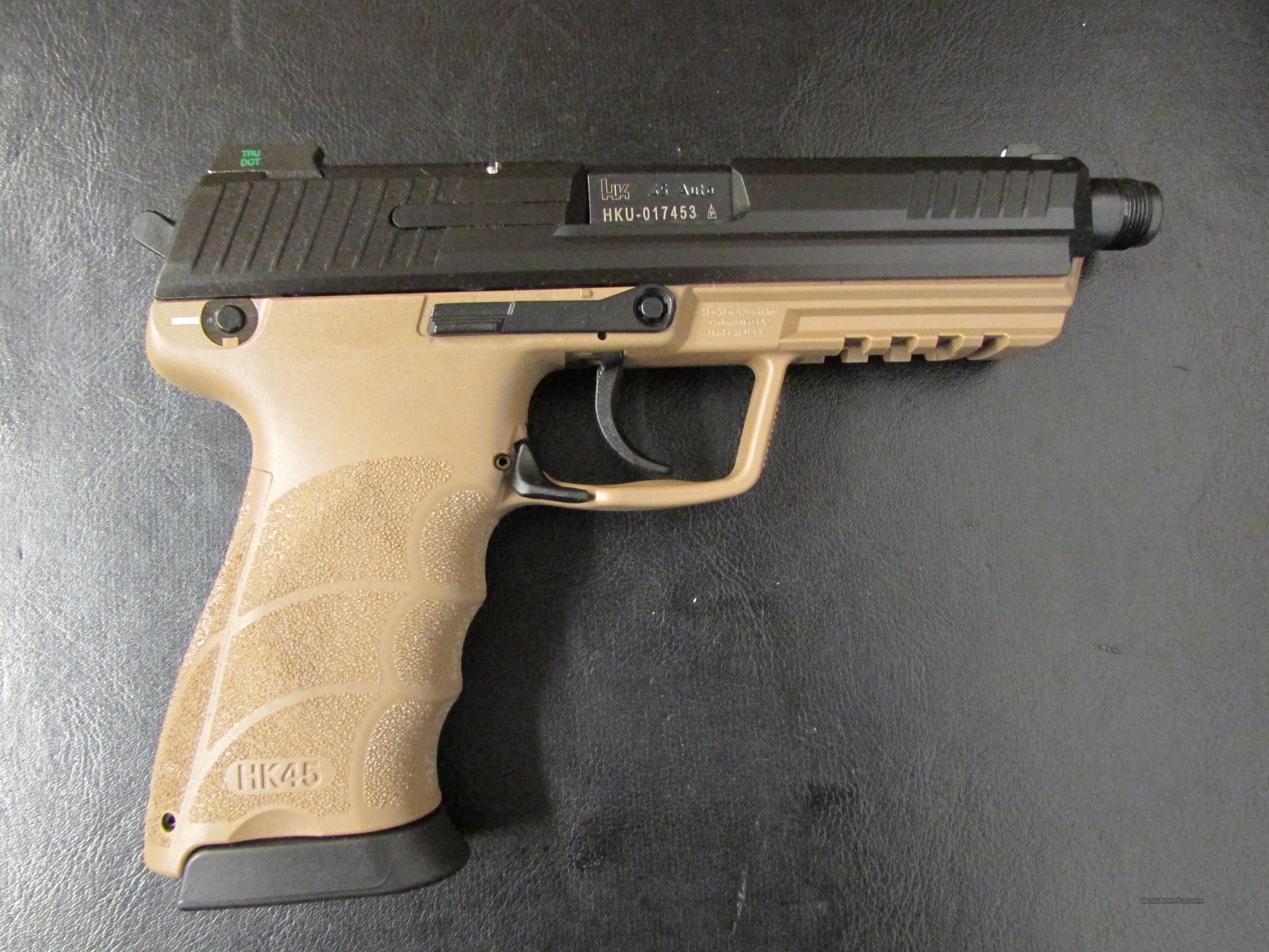 Heckler & Koch HK45 Tactical FDE  45ACP