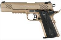 Walther Colt Government 1911 A1 Rail Gun .22LR FDE 517.03.10