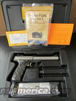 Browning Buck Mark Stainless Black Laminated UDX Semi-Auto .22 LR Pistol