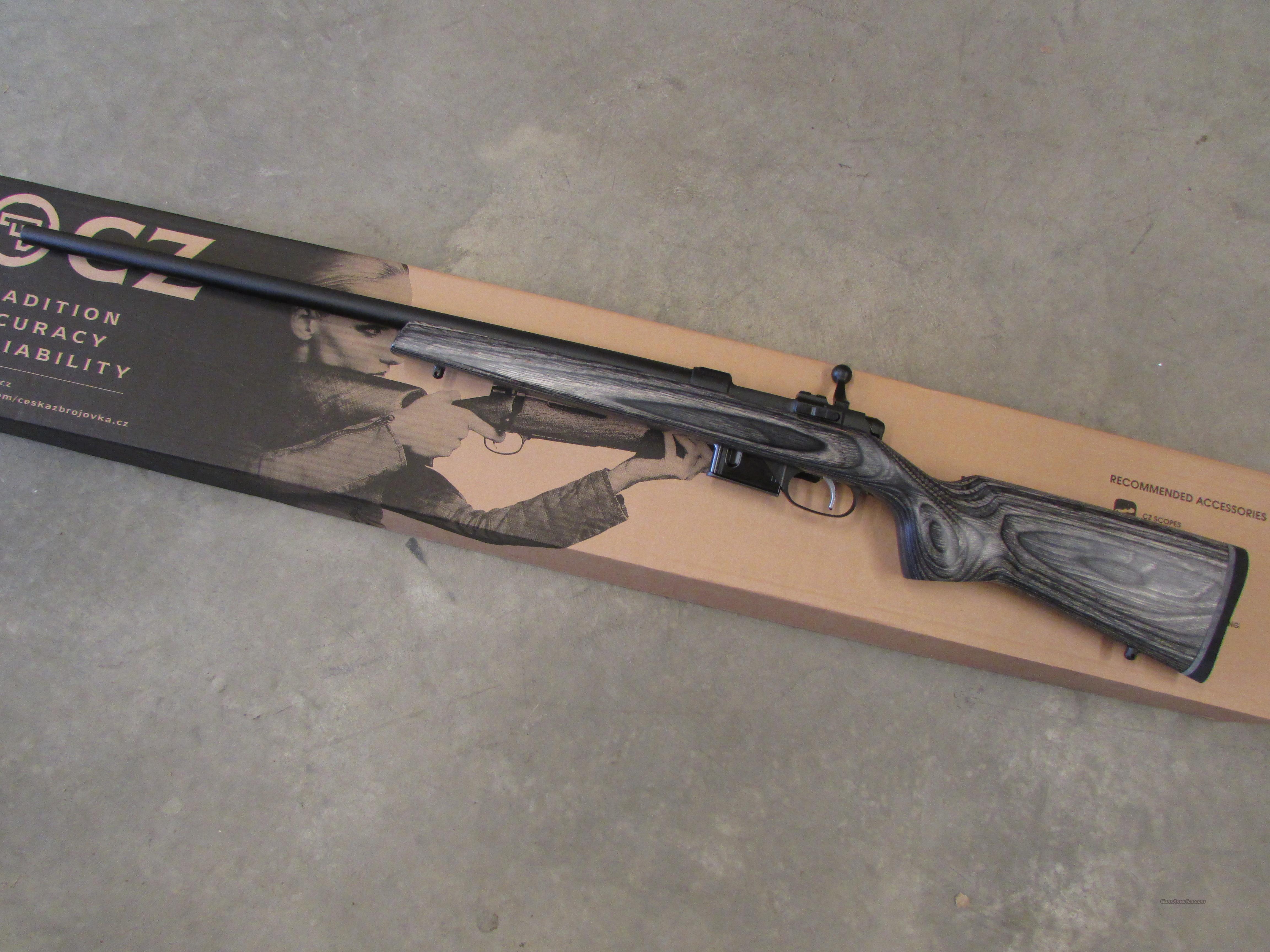 CZ .17 Hornet 527 Varmint Laminate Thumbhole Grey Rifle For Sale