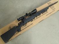 "Savage Arms 11 Trophy Hunter XP (Youth) 20"" Black Synthetic .308 Win with Scope"