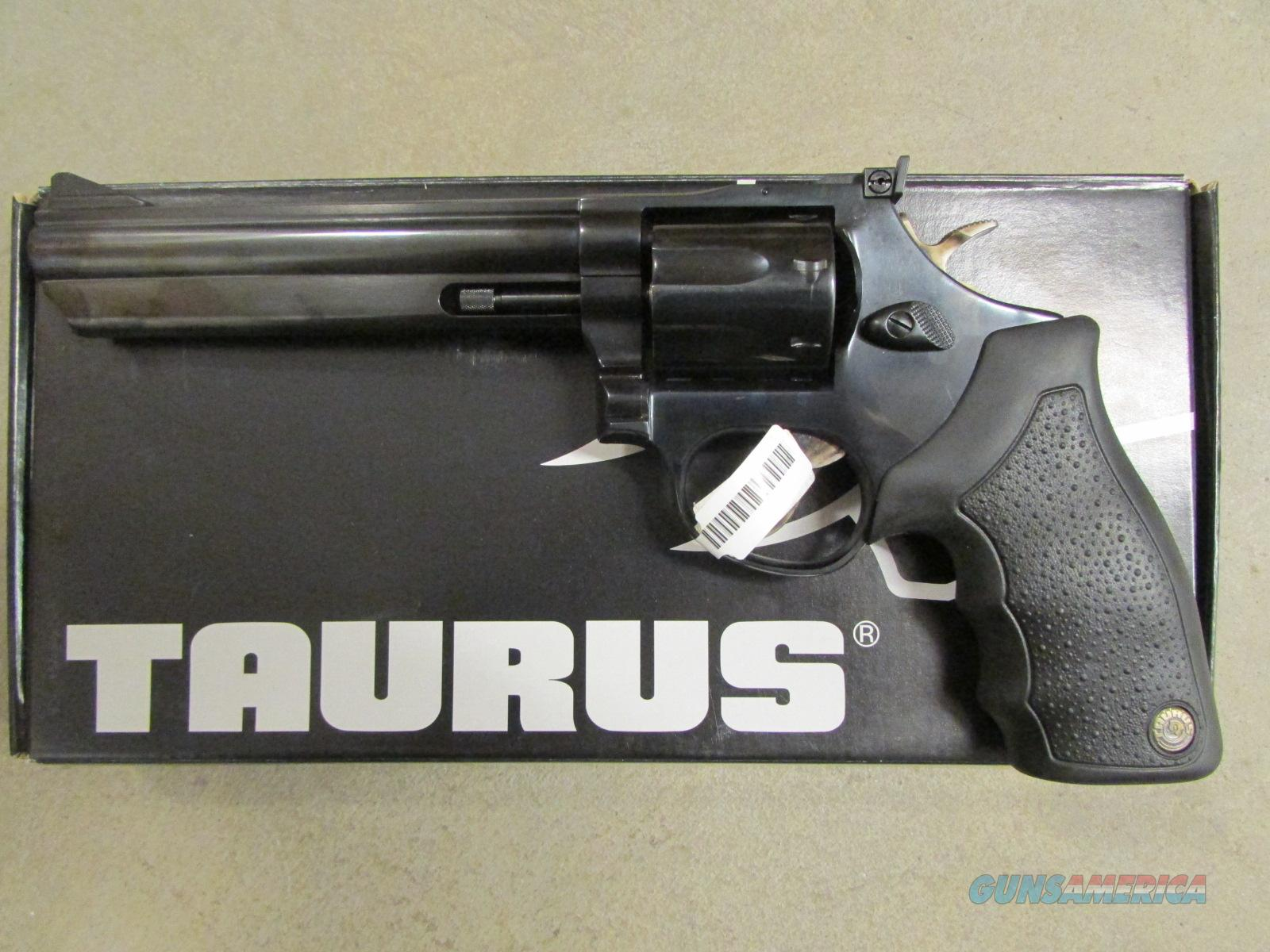Taurus Model 66 Blued 357 Mag Revolver For Sale
