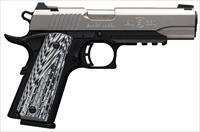 Browning 1911-380 Black Label Pro Stainless w/Rail 051923492