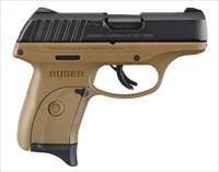 Ruger EC9s FDE / Black 9mm Luger 3.12