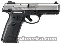 Ruger Stainless SR40 Stainless Full-Size .40 S&W 3470
