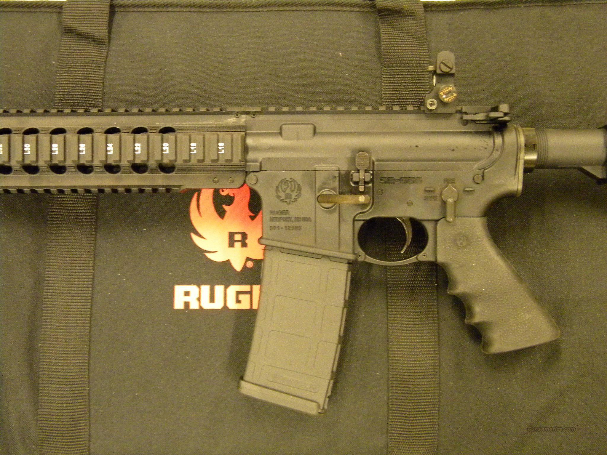 Ruger Sr 556 Carbine Autoloading Rifle 223 Rem For Sale