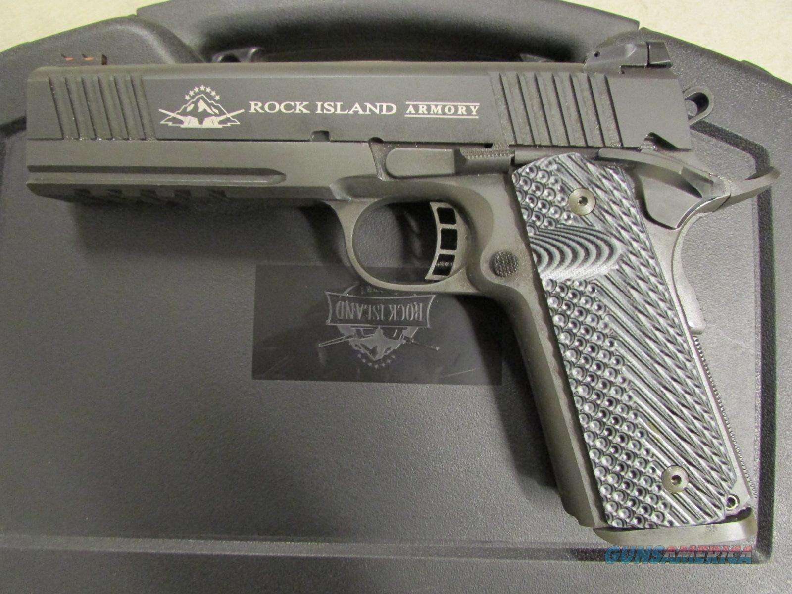 Rock Island Armory M1911 A1 TAC 2011 G10 Grips  45 ACP 51485