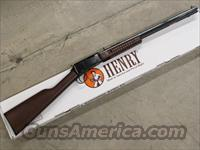 Henry Pump-Action Octagon Barrel .22 WMR (Magnum) H003TM