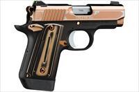 "Kimber Micro 9 Rose Gold 9mm 3.15"" 7 Rds Tritium Sights 3300174"