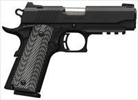 "Browning 1911-380 Black Label Pro Compact .380 ACP 3.625"" 051909492"