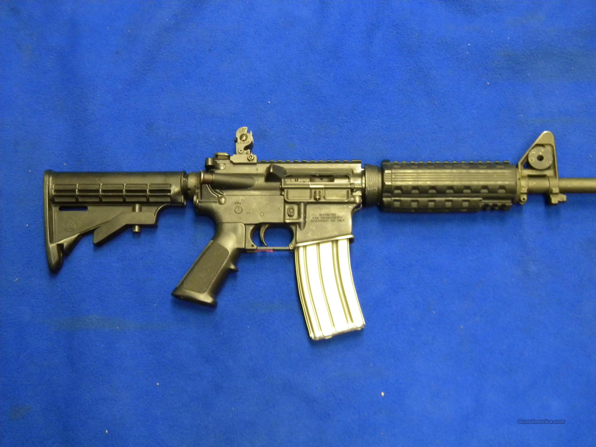 Used Bushmaster AR-15 5.56 NATO For Sale