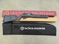 TACTICAL SOLUTIONS X-RING RIFLE MAGPUL HUNTER X-22 BLACK / STEALTH GRAY .22 LR 10/22 TE-MB-B-M-GRY