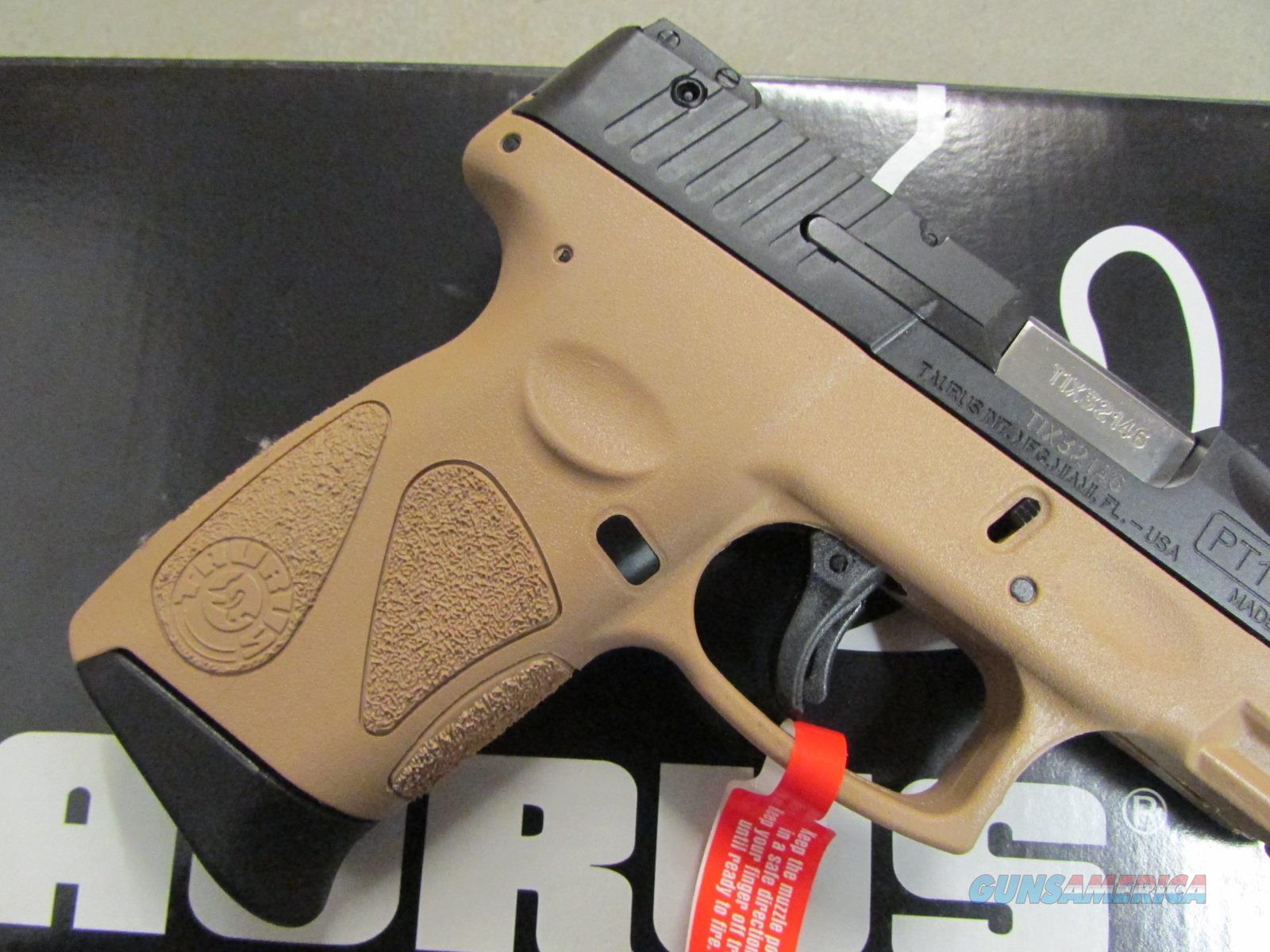 Taurus Millennium G2 Sub Compact Fde 9mm 1 1110 For Sale Schematics 8410939