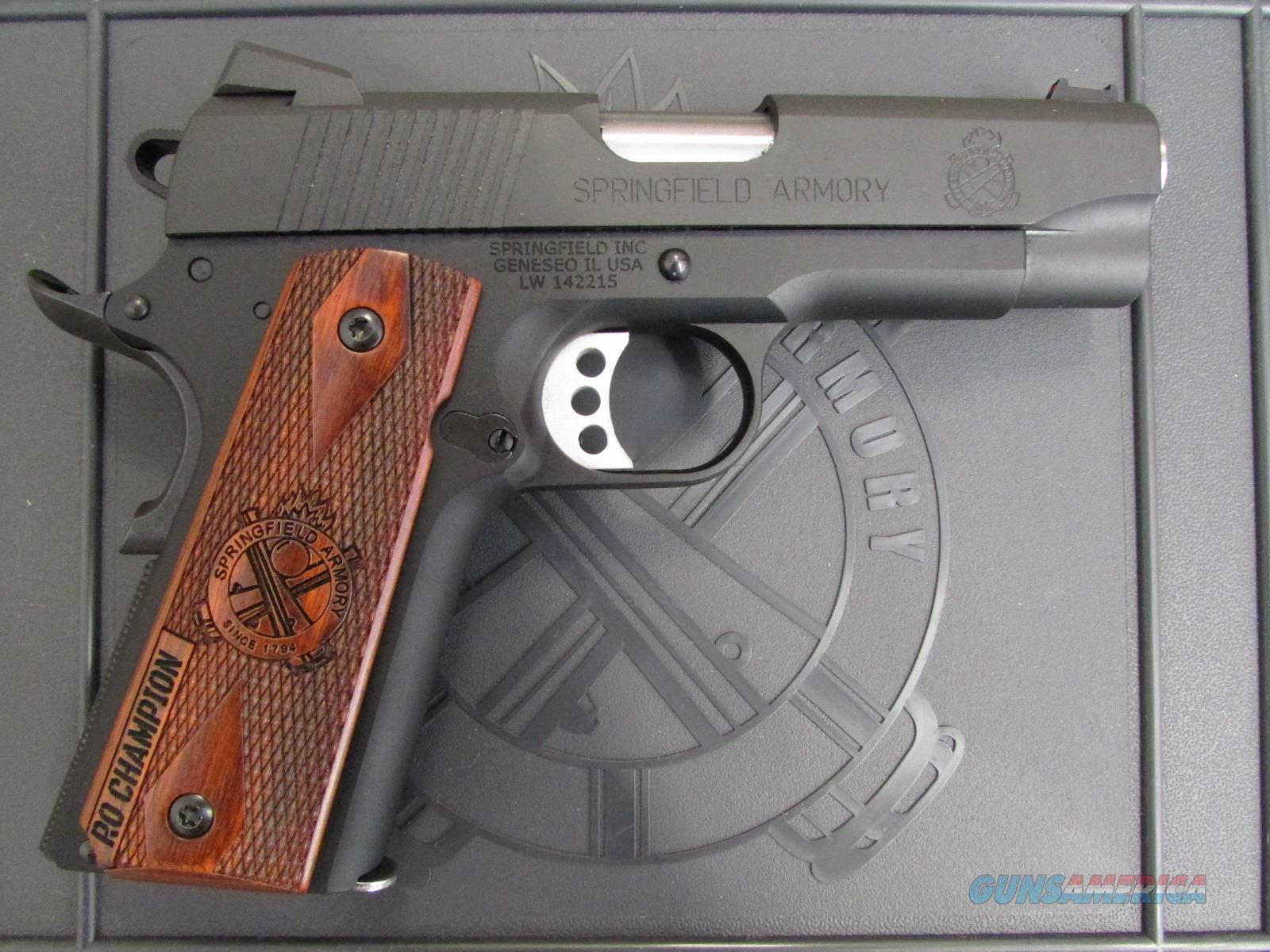 Springfield 1911 Range Officer Champion LW 9mm PI9137LP