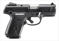 "Ruger SR9c Compact 3.4"" Black 9mm 3314"