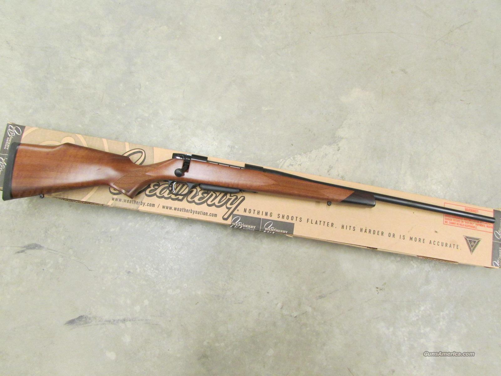 Weatherby Vanguard Series 2 Sporter Turkish Wal... for sale
