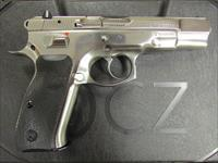 CZ-USA CZ 75 B High Polished Stainless 16+1 9mm 91108