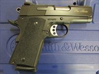 "Smith & Wesson SW1911 Pro Series Sub Compact 3"" Black .45 ACP 178020"