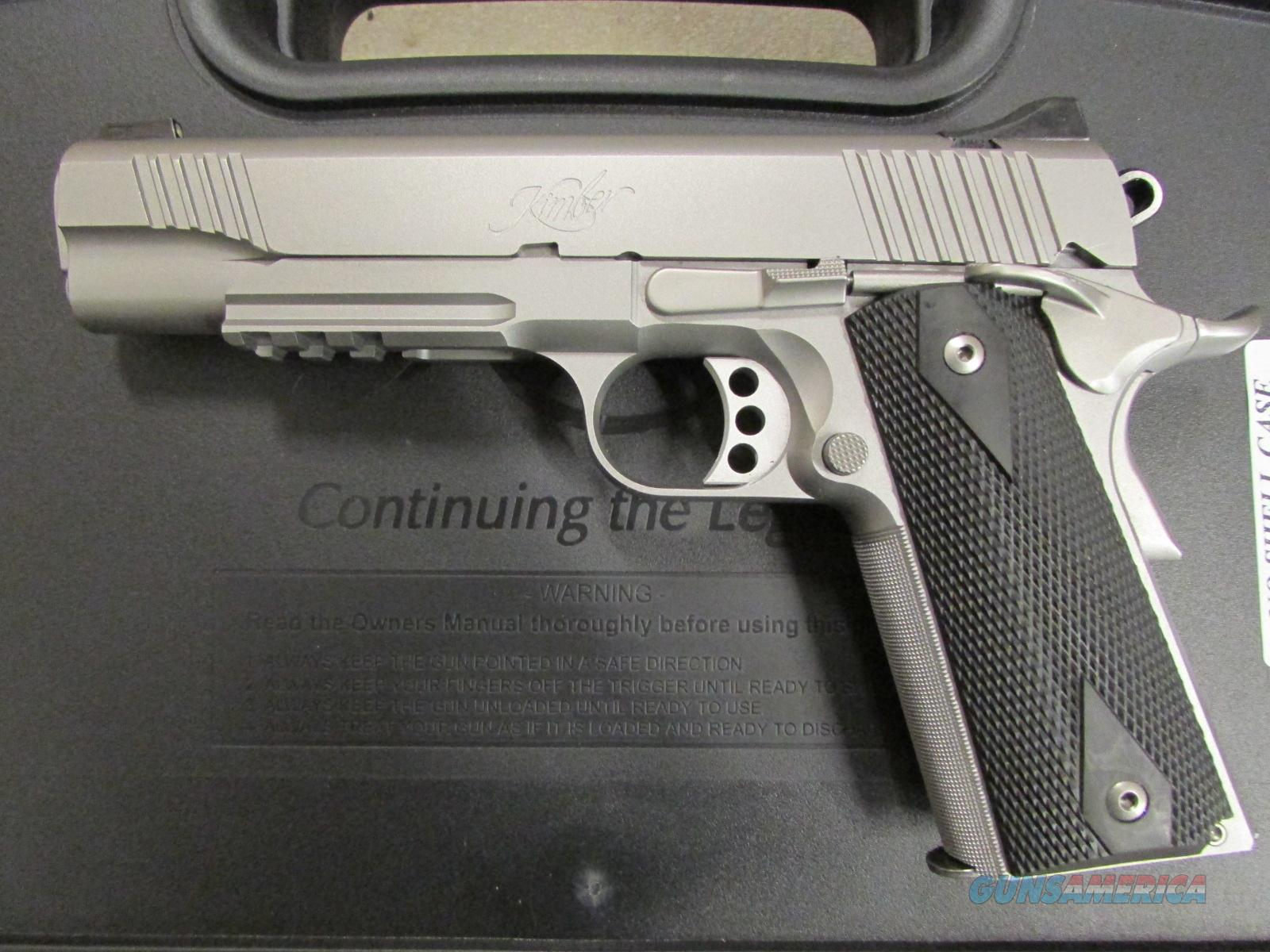 Kimber Custom Ii Stainless Tle Rl 1911 45 A For Sale Parts Diagram 7814323