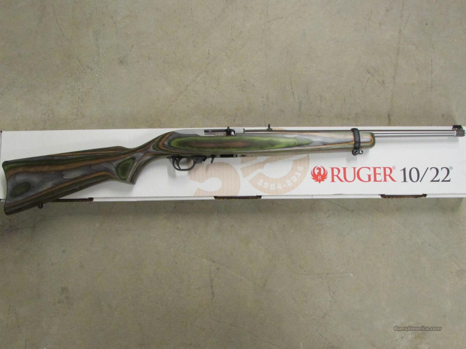 Ruger 10 22 Exclusive Laminate 50th Anniversary For Sale