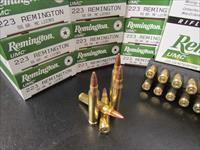 200 ROUNDS REMINGTON/UMC .223 REM 55 GR FMJ L223R3