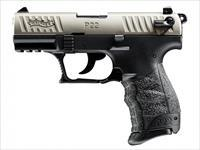 "Walther P22 QD .22 LR 3.42"" Black/Nickel 512.05.25"