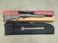 TACTICAL SOLUTIONS X-RING SBX RIFLE VORTEX 2-7X32 HOGUE GHILLE GREEN .22 LR 10/22 SBXMBBHGGRNVRTX