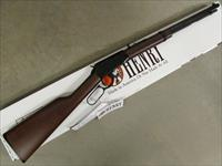 Henry Lever Octagon Frontier Model Rifle .17HMR
