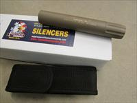 FREEDOM ARMS MACHINE WORKS MINUTEMAN TI .22 CALIBER SILENCER/SUPPRESSOR FDE