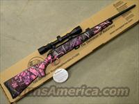 Savage Axis XP Muddy Girl Pink Camo .223 Rem. w/ Scope 19975