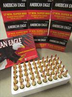 500 Rounds of Federal .17 WSM 20 Grain Tipped-Varmint AE17WSM1