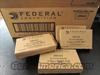 500 ROUNDS FEDERAL XM193 5.56 NATO 55 GRAIN MILITARY BALL