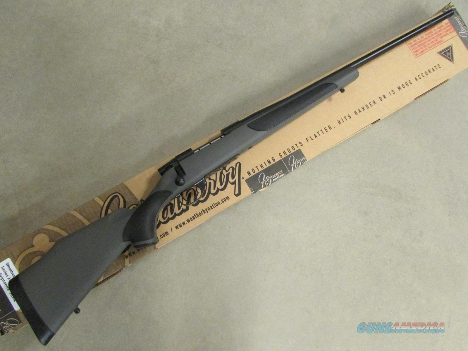 Weatherby Vanguard Series 2 Synthetic Stock 24\