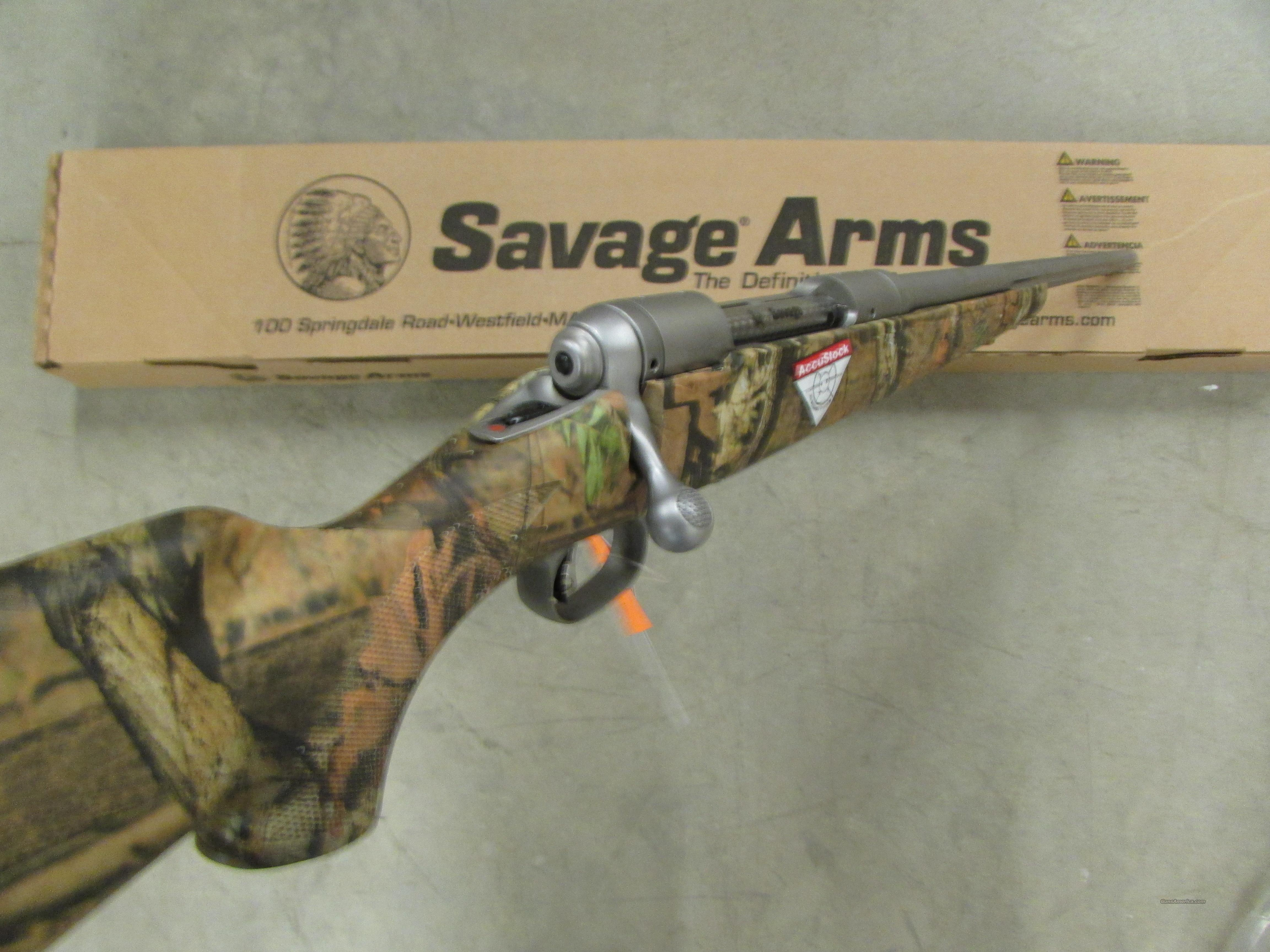 Savage Model 116 Bear Hunter Camo Amp Stainless For Sale