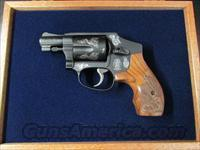 Smith & Wesson Model 442 Centennial AirWeight Engraved .38 Special