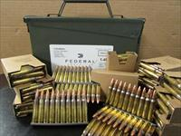 420 ROUNDS FEDERAL XM193 5.56 NATO STRIPPER CLIPS IN AMMO CAN