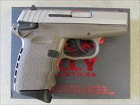 "SCCY CPX-1 DAO 3.1"" Stainless / Flat Dark Earth FDE 9mm CPX1TTDE"