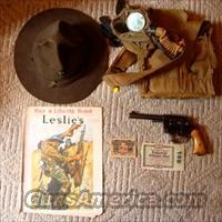 WWI Colt 45 (US Property)  w/ Gas Mask, Hat, Currency & More