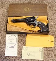 1968 Colt Scout Unfired New in Box with Factory Letter 22 cal.