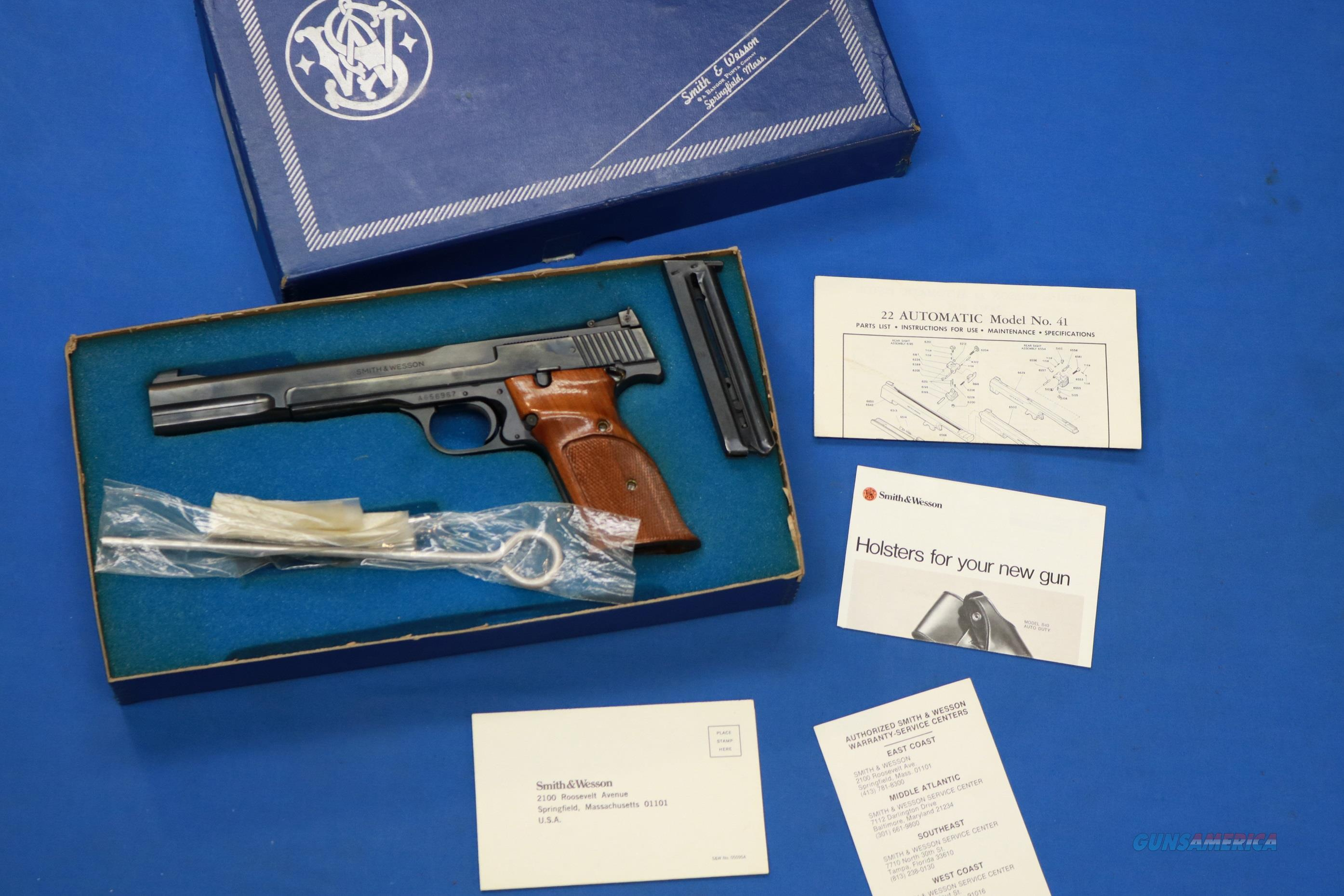 Elk Castle Shooting Sports Items Smith And Wesson Model 29 Parts Diagram On Mosin Nagant 41 Semi Auto 22 Lr 7 W Box Acc