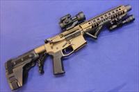S&J TACTICAL BRONZE ELITE 1 5.56 PISTOL w/ ARM BRACE & 1100 Rounds of AMMO!