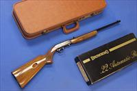 BELGIAN BROWNING .22 AUTO RIFLE w/BOX & HARD CASE