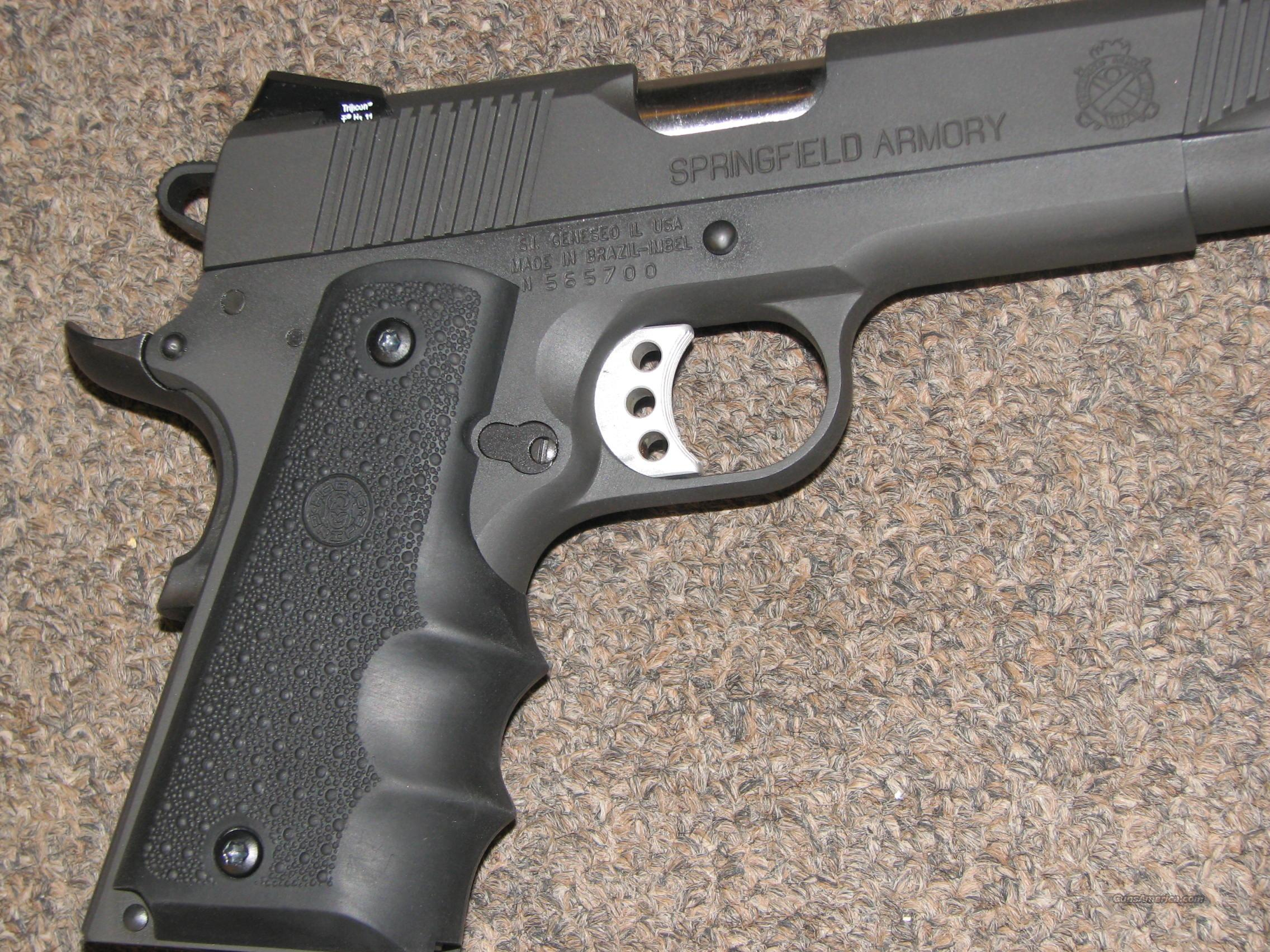 Springfield 1911 A1 45 Acp W Trijicon Sights For Sale