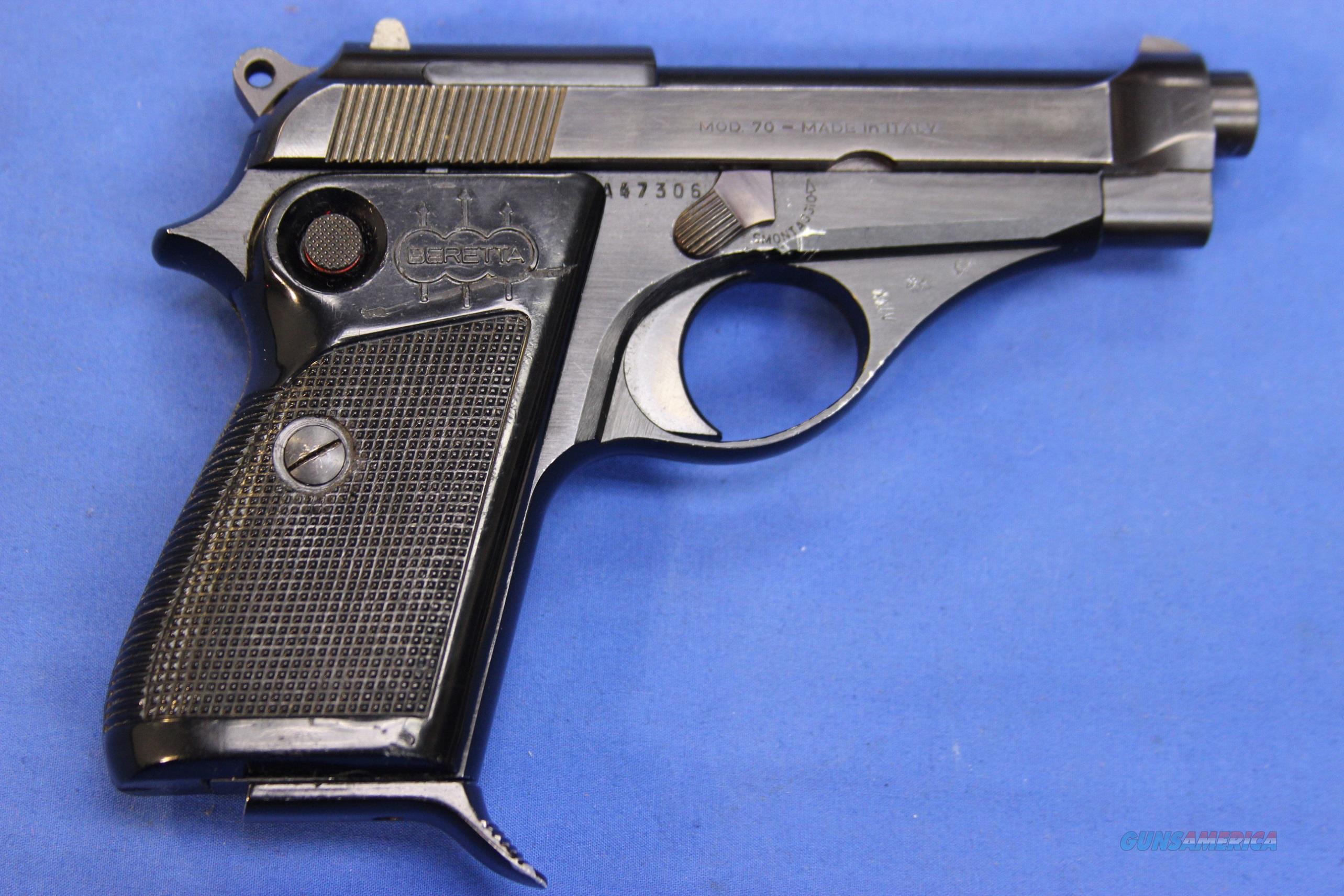 Beretta Model 70 7 65 32 Acp For Sale
