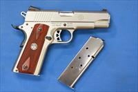 RUGER SR-1911 COMMANDER STAINLESS .45 ACP w/2 MAGS