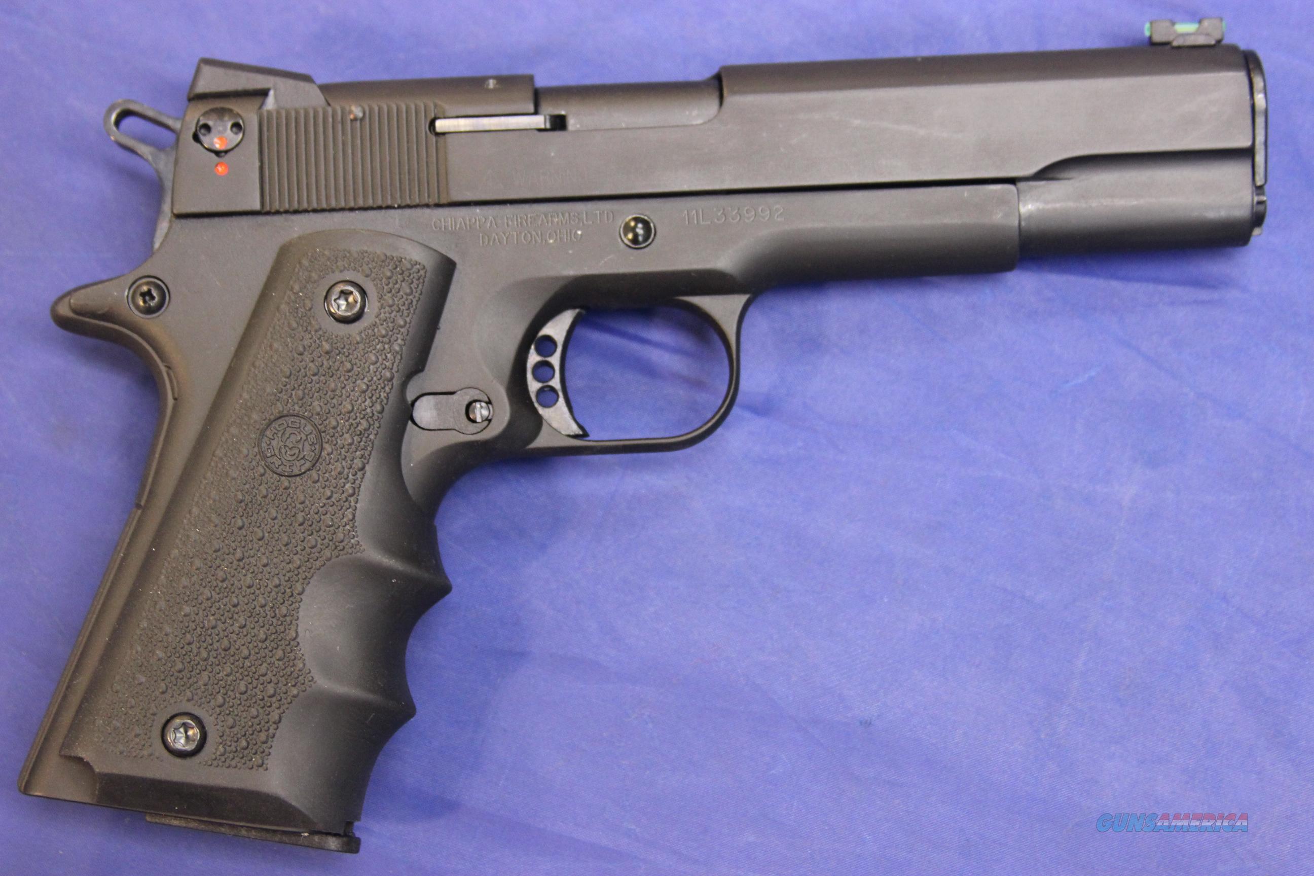 chiappa citadel 1911 22 22 long rifle w box for sale