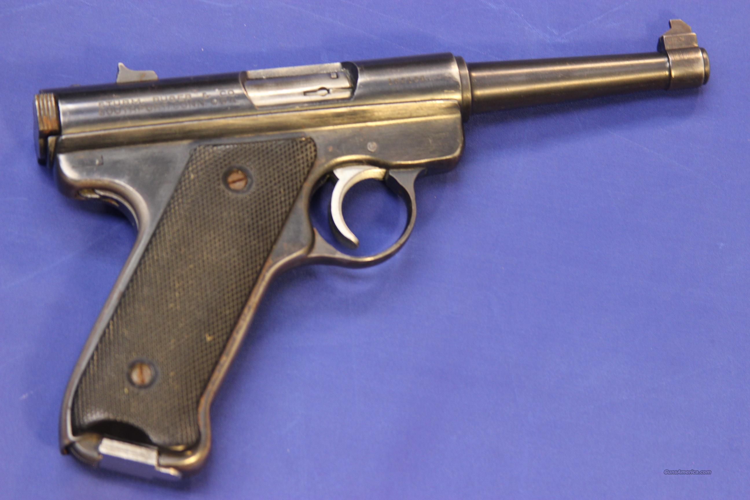 Ruger Mark I 22 caliber pistol. | The Firearms Forum