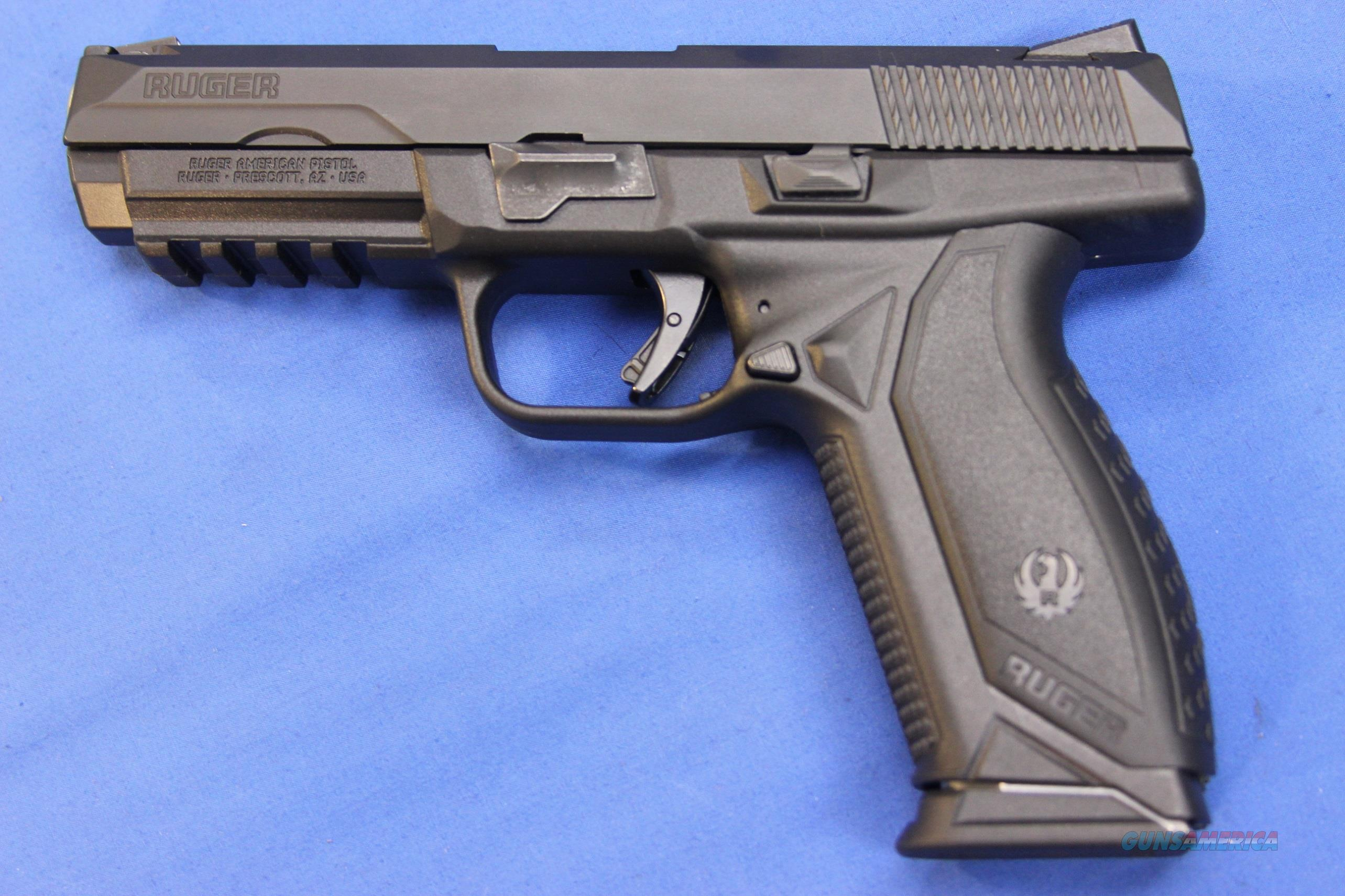 Ks Auto Sales >> RUGER AMERICAN PISTOL .45 AUTO - NEW! for sale